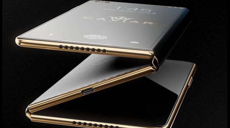 Őrülten drága ötlet a háromba hajtható iPhone Z kép