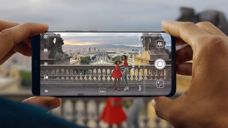 Ezért tartja meg a mobilkijelzők alsó keretét a Huawei kép