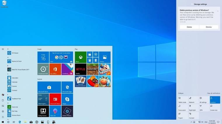 Már elérhető a Windows 10 következő nagy frissítése kép