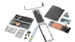 Ilyen könnyű eltörni egy Samsung Galaxy Foldot kép