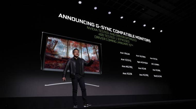 7 újabb monitor lesz G-Sync-képes kép