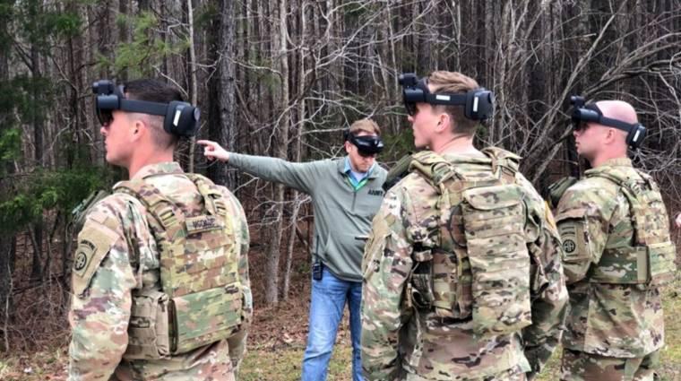 Call of Duty élőben: így használja az amerikai hadsereg a HoloLenst kép