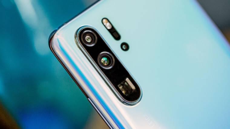 A Huawei P30 Pro összes kamerája Sony szenzort használ kép