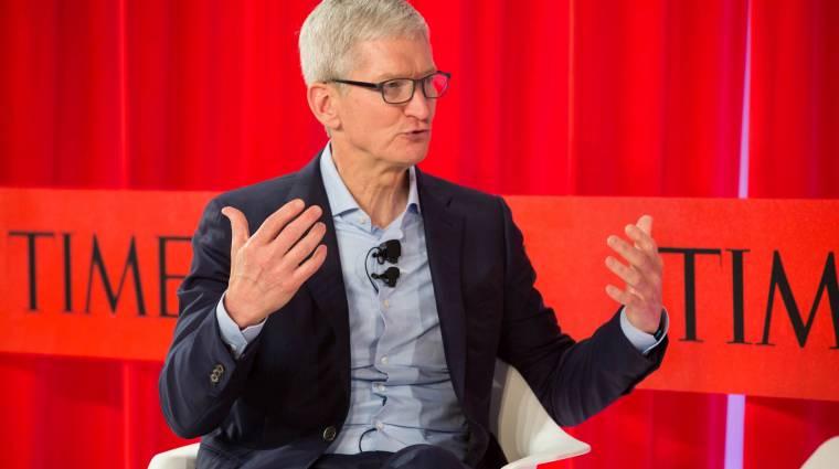 Tim Cook szerint ideje kevesebbet nyomkodni az iPhone-od kép