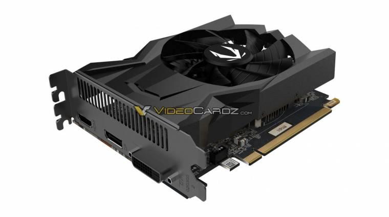 Képeken a ZOTAC GeForce GTX 1650 kép