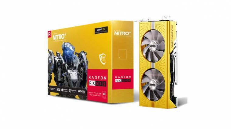 Aranyba öltözik a Sapphire Radeon RX 590 kártyája az AMD 50. évfordulójára kép