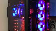 Erre jó egy Ryzen Threadripper 1950X HEDT és négy Radeon RX Vega 64 LC kép