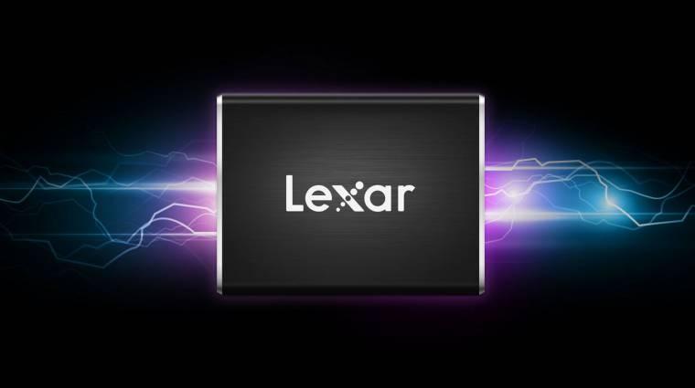 Világelső hordozható SSD-t mutatott a Lexar kép