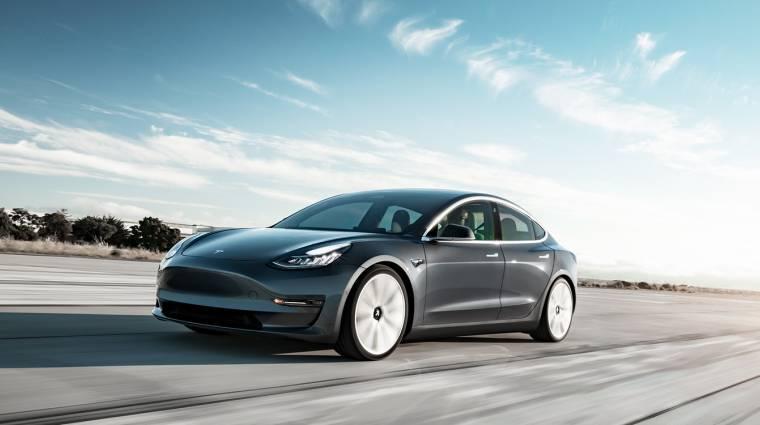 Saját robottaxit adna a Model 3-tulajdonosok kezébe a Tesla kép