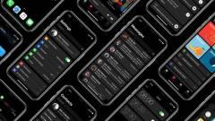 Sötét móddal újíthat az iOS 13 kép