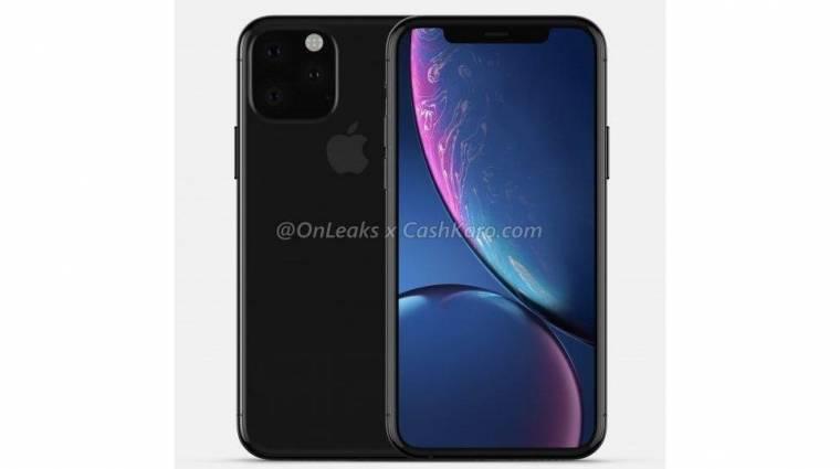 Így nézne ki az Apple iPhone XI kép