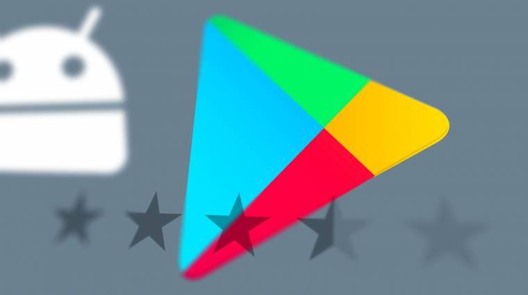 Átalakítja a Play Áruház értékeléseit a Google kép