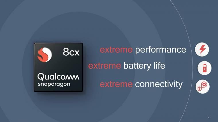 Intel processzorokat verne a Qualcomm Snapdragon 8cx kép