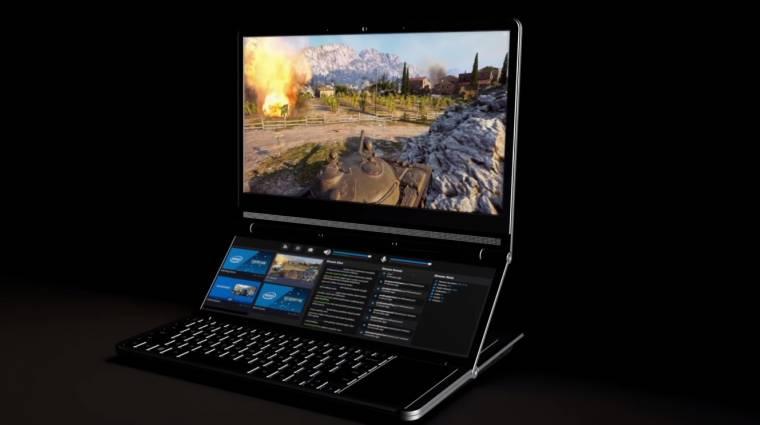 Az Intel szerint így néz ki a következő-generációs gamerlaptop kép