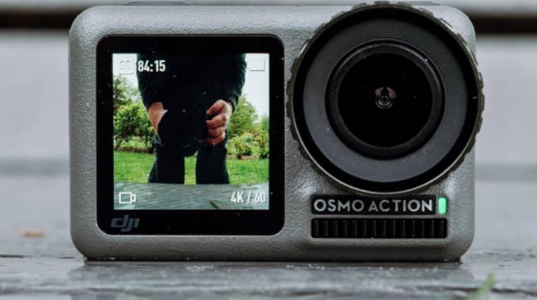 Dupla kijelzővel érkezett a 4K-s DJI Osmo Action akciókamera kép