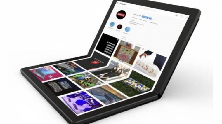 Összehajtható kijelzőt kap a Lenovo ThinkPad X1 laptopja kép