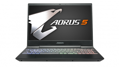 Ütős Aorus 5 gamerlaptoppal készül a Computexre a Gigabyte