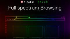 Razer Chroma-támogatást kapott a Vivaldi 2.5 kép