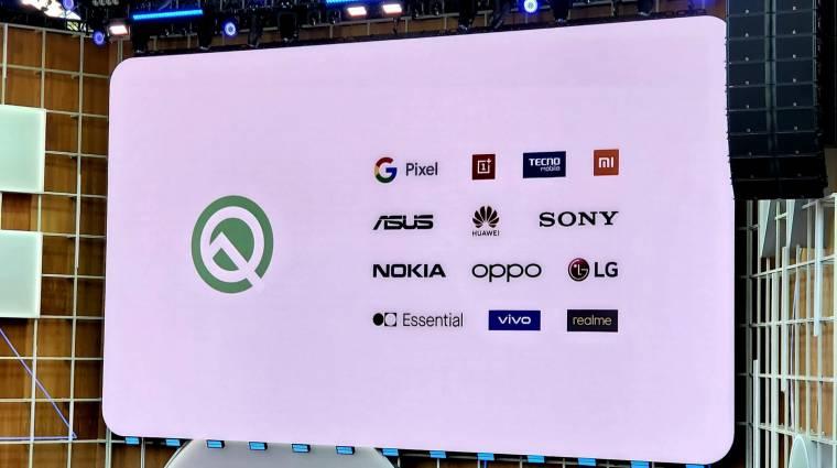 Ezekre a mobilokra tölthető az Android 10 bétája kép