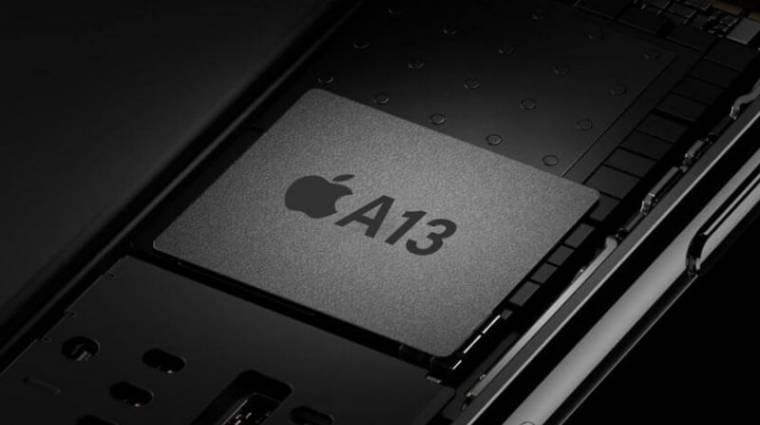Már készül az Apple A13 mobilchip kép