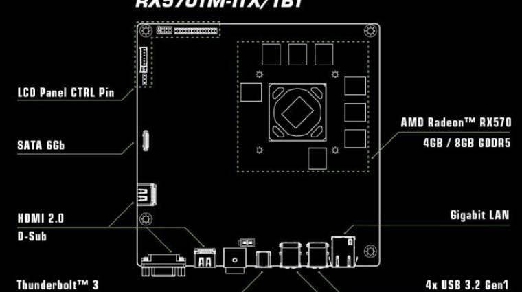 Thunderbolt 3-as videokártyát villantott az ASRock kép