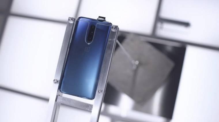 Így kínozták a OnePlus 7 Pro felugró kameráját kép