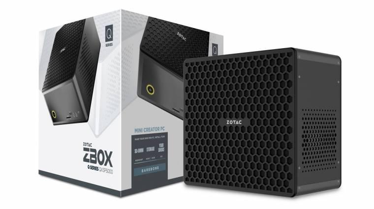 Intel Xeon processzor is elfér a Zotac apró ZBox gépeiben kép