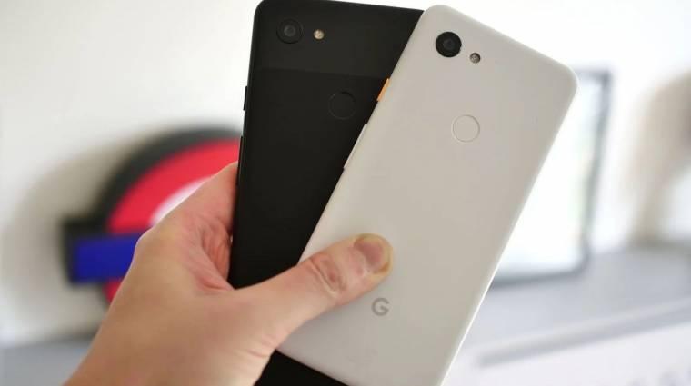 Egyelőre nem bétáznak a Google Pixel 3a mobilok kép