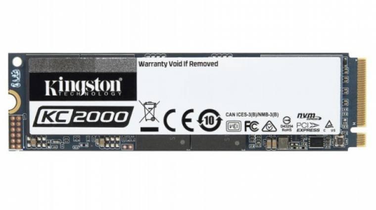 Villámgyors SSD-vel újított a Kingston kép
