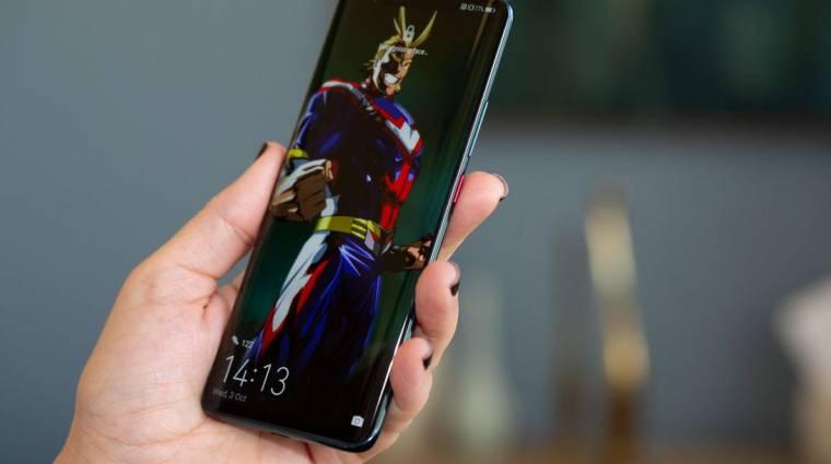 Még nagyobb kijelzőt kap a Huawei Mate 30 Pro kép