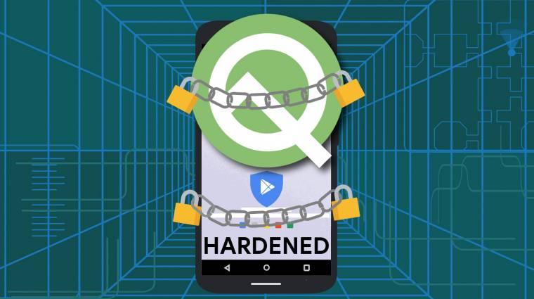 Az olcsó Android 10 Q-s mobilokat is titkosítja a Google kép