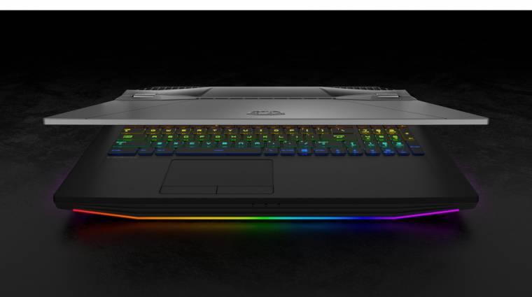 Ütős asztali gép helyett is beválik az MSI GT76 Titan laptop kép