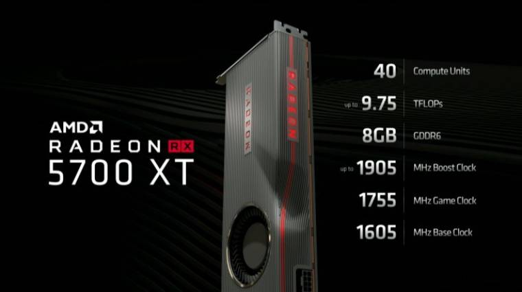 Itt vannak az AMD Radeon RX 5700-as videokártyái kép
