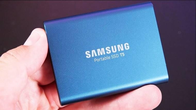 Újabb hordozható Samsung SSD érkezhet kép