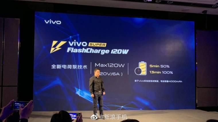 Tényleg 13 perc alatt töltené fel a mobilodat a Vivo kép