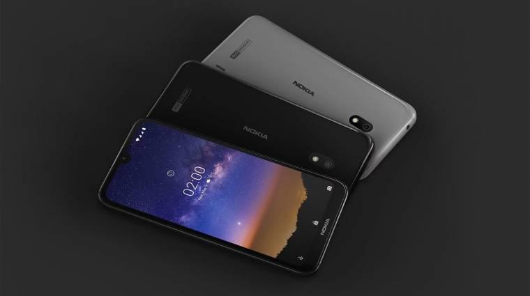 Nagyon olcsó, ám annál csábítóbb lett a Nokia 2.2 kép