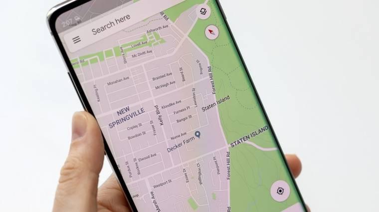 A taxival utazóknak segítene a Google Térkép kép