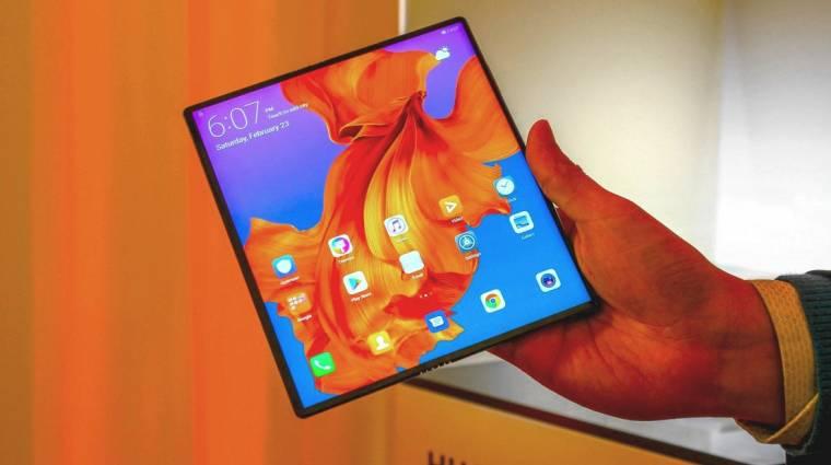 A Huawei összehajtható mobilja is késik kép