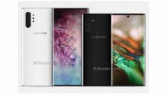 Középre fúrják a Galaxy Note 10 szelfikameráját kép
