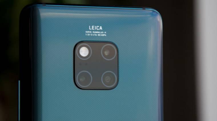 Nagy durranás lehetne a Huawei Mate 30 Pro kép