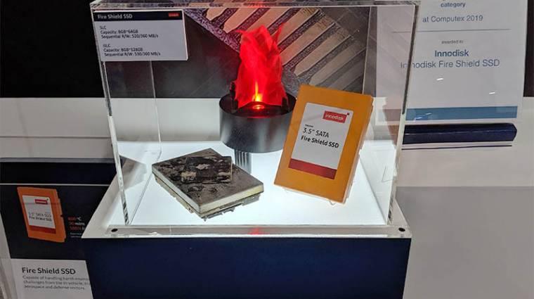 Akár 800 Celsius-fokot is kibír az Innodisk SSD-je kép