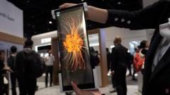 Összehajtható helyett feltekerhető mobilokat akar a BOE kép
