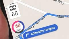 Sebességmérőt kapott a Google Térkép kép