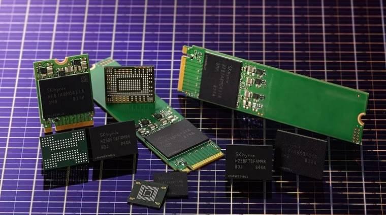 Felgyorsítják az új 3D NAND flash technológiák fejlesztését kép