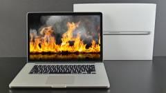 Tűzveszély: az Apple visszahívja a régebbi 15 hüvelykes MacBook Pro modelleket kép