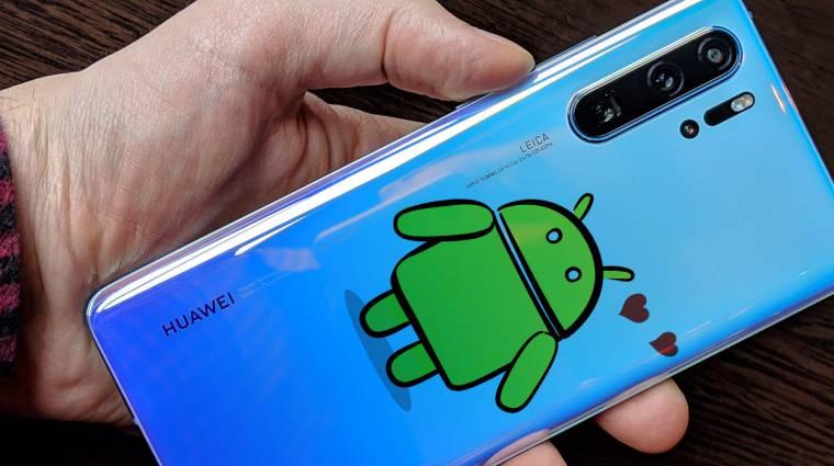 Ezek a Huawei telefonok biztosan kapnak új Androidot kép