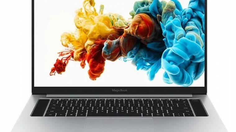 Nagy, erős, de kompakt laptop lett a Honor MagicBook Pro kép