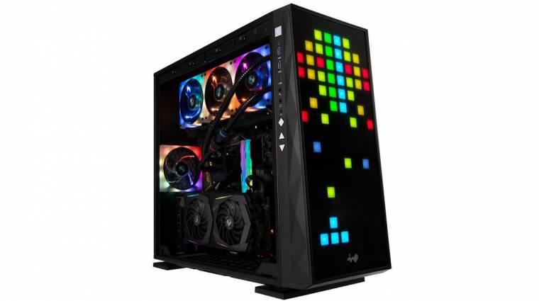 Végre itt egy egyedi és igen látványos számítógépház kép