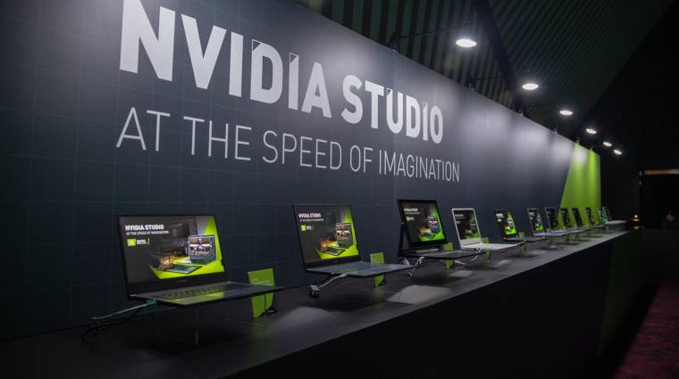 10 új RTX Studio laptopot villantott az NVIDIA kép