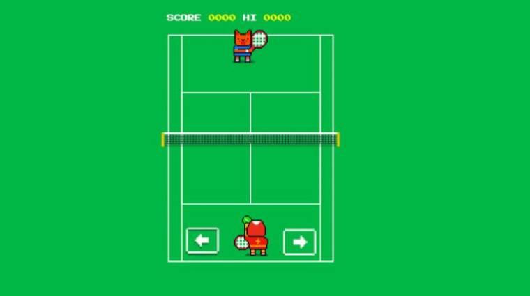 Így ütheted el az időt a Google Wimbledon-játékával kép